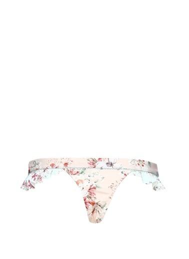 Minkpink Active Çiçekli Fırfırlı Bikini Altı Renkli